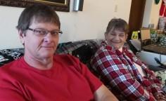 Dad + Grandma Rita